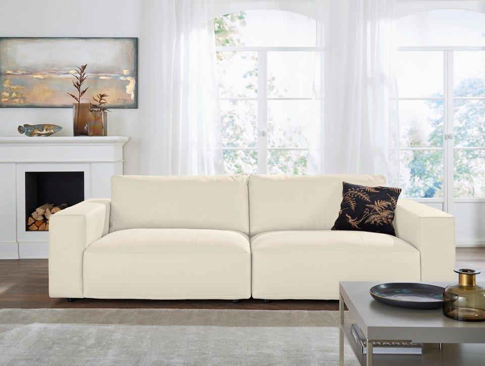 GALLERY M Big-Sofa 3-Sitzer »Lucia« in vielen Farben und ...