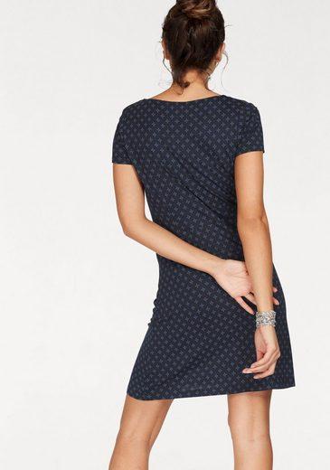 Tom Tailor Jerseykleid, mit wunderschönem Minimal-Alloverprint