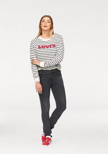 Levi's® Sweatshirt Relaxed Crew, Logo Stickerei