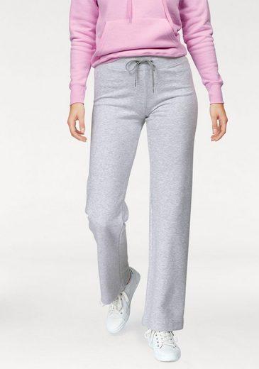 Fruit Of The Loom Jogginghose Lady-fit Jog Pants Mit Offenem Beinabschluss