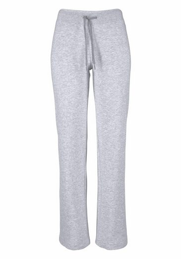 Fruit Of The Loom Jogginghose Lady-fit Jog Pants Mit Offenem Beinabschluss