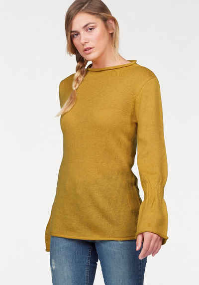 half off fe9fc 240d7 Pullover in gelb online kaufen | OTTO