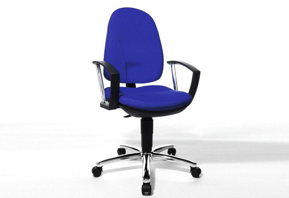Topstar Bürostuhl »Home Chair 70 - Deluxe«, in 2 Farben in blau