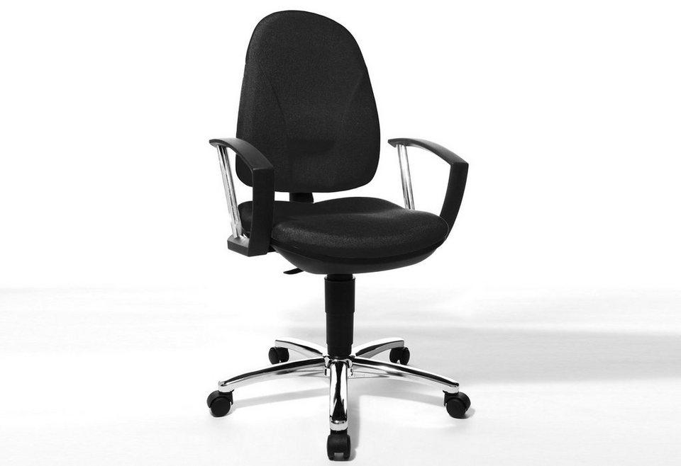 Topstar Bürostuhl »Home Chair 70 - Deluxe«, in 2 Farben in schwarz