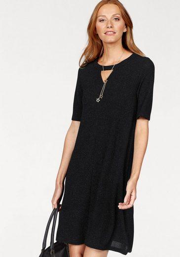CLAIRE WOMAN A-Linien-Kleid, mit Glitzer-Effekt