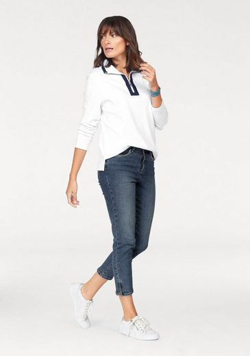 STOOKER WOMEN 7/8-Jeans Rio, mit Glitzersteinen