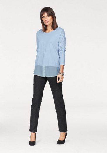 STOOKER WOMEN Stretch-Jeans, Nizza, klassische Jeans mit konischer Beinform