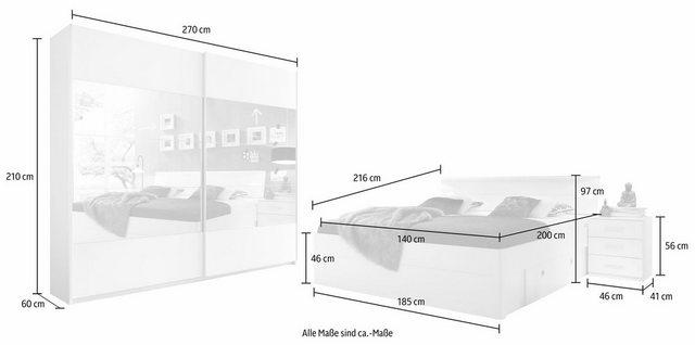 Schlafzimmer Sets - Schlafzimmer Set, in 2 Ausführungen  - Onlineshop OTTO