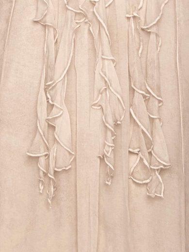 RUBINA STONES Longbluse aus Seide