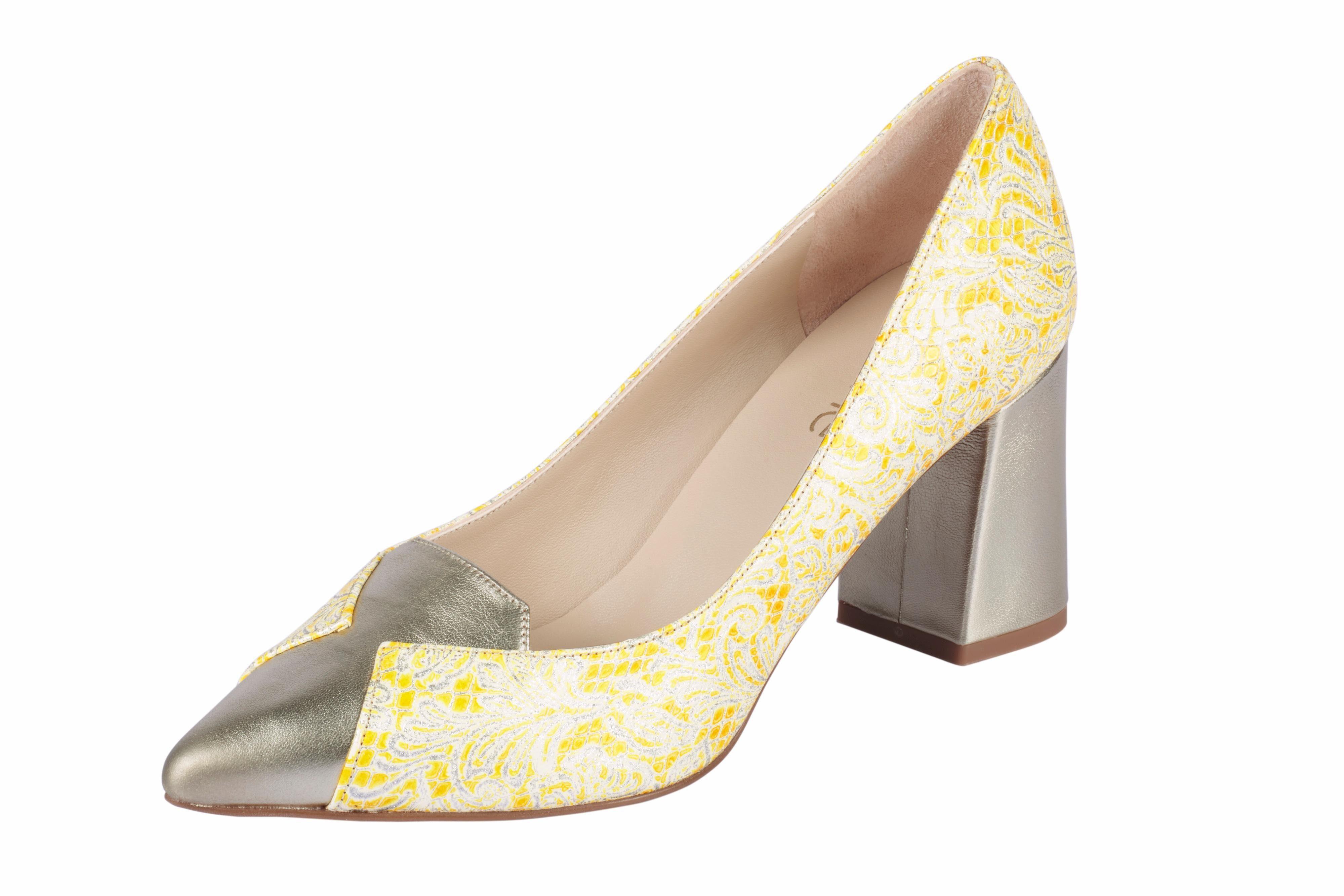 Heine Pumps online kaufen  gelb#ft5_slash#goldfarben