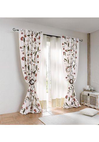 HEINE HOME Dekoratyvinės užuolaidos siuvinėtas