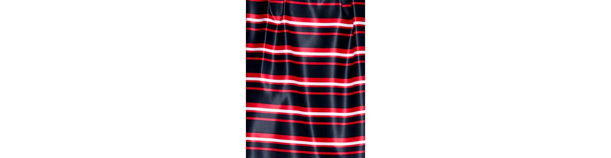 Steckdose Breite Palette Von ASHLEY BROOKE by Heine Bodyform-Druckrock mit Streifendessin Auslass Sneakernews Rabatt-Countdown-Paket Niedrig Versandkosten Für Verkauf sMQWB7