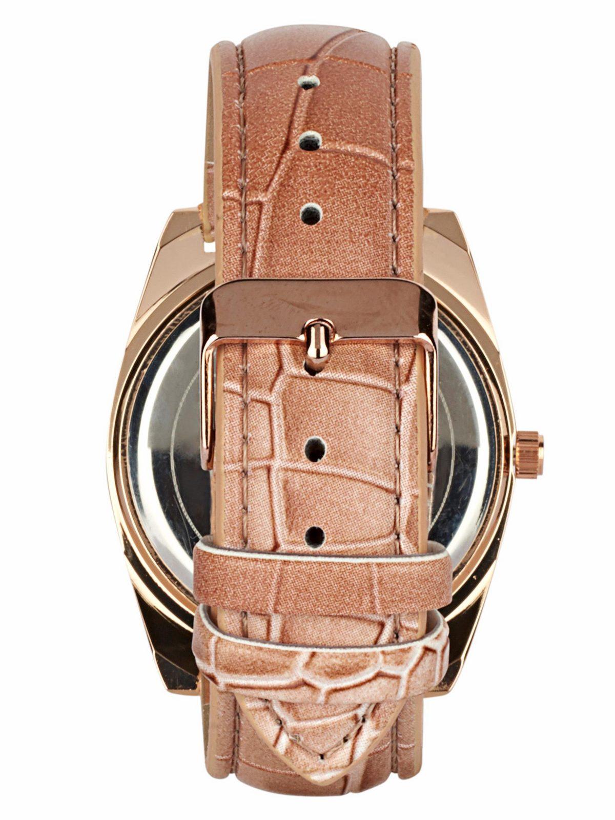 Heine Armbanduhr in Perlmuttoptik