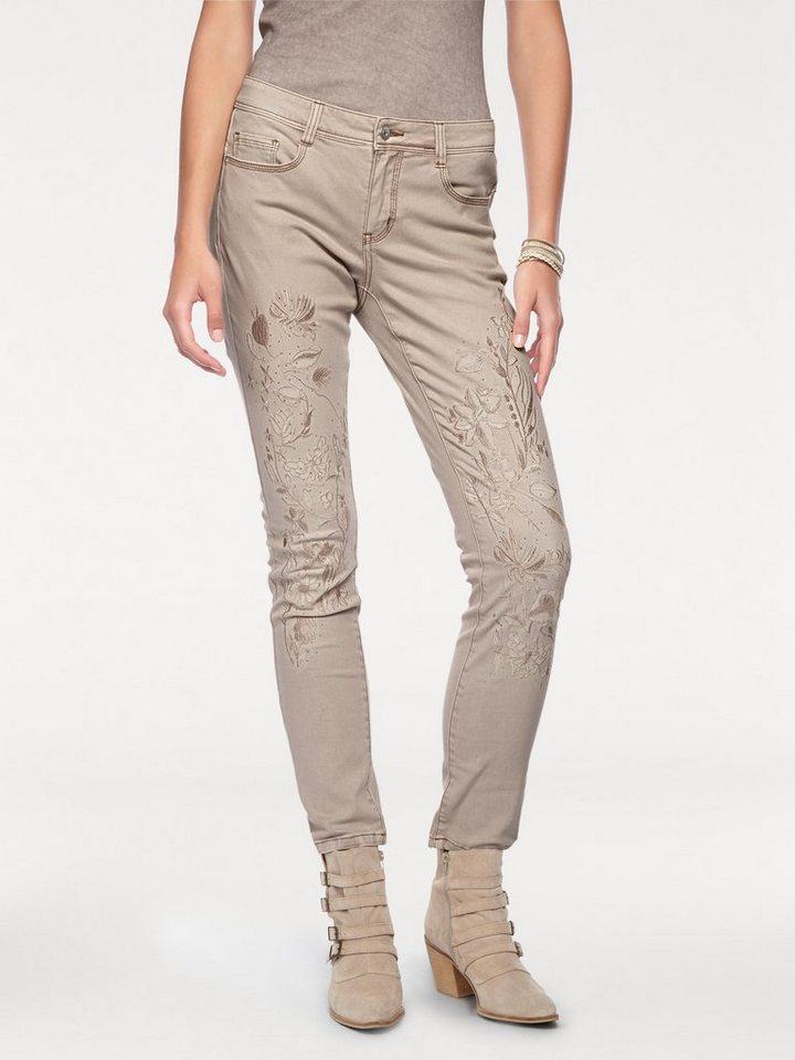 a3d70cd7122284 heine CASUAL Jeans mit Stickerei online kaufen | OTTO