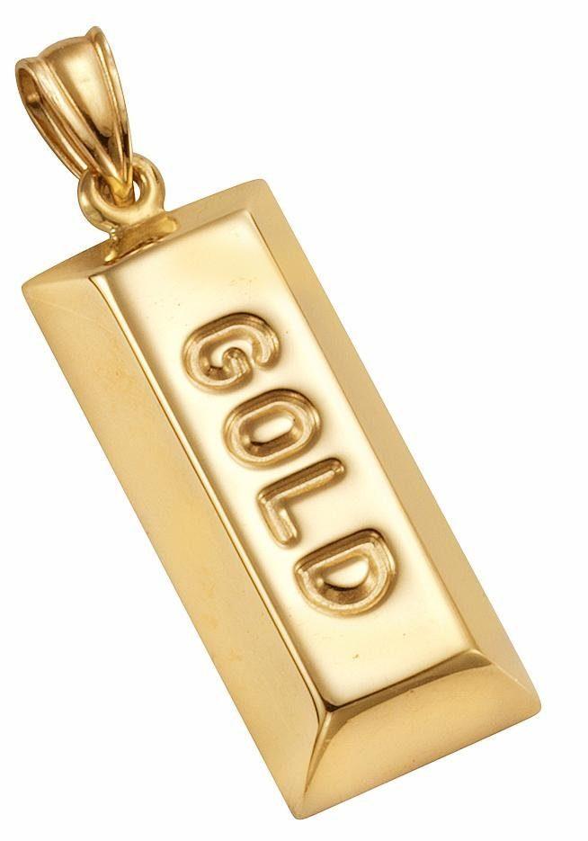 Firetti Kettenanhänger »Goldbarren«