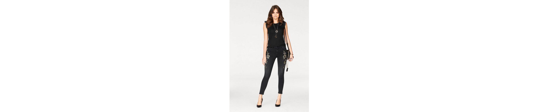 Melrose Skinny-fit-Jeans, mit glänzender Applikation