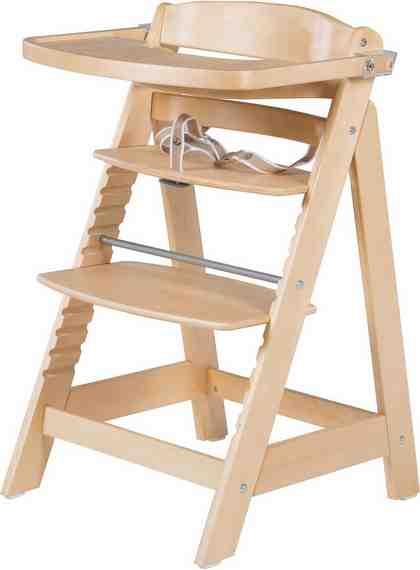 Roba Hochstuhl aus Holz, »Treppenhochstuhl, Sit Up Fun, natur«