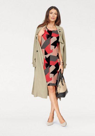 Laura Scott A-Linien-Kleid, mit modischem Druckmuster