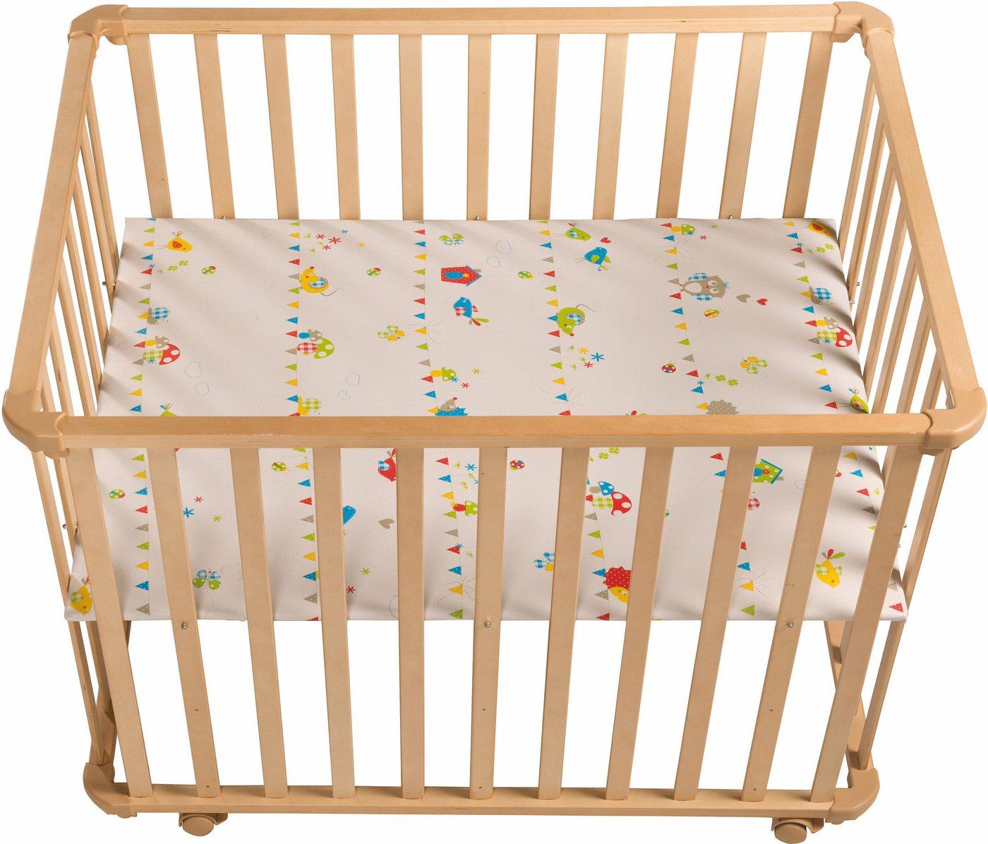 Roba® Laufgitter »Waldhochzeit, 75x100 cm«, mit Folienboden | Kinderzimmer > Babymöbel > Lauf- & Schutzgitter | Roba®