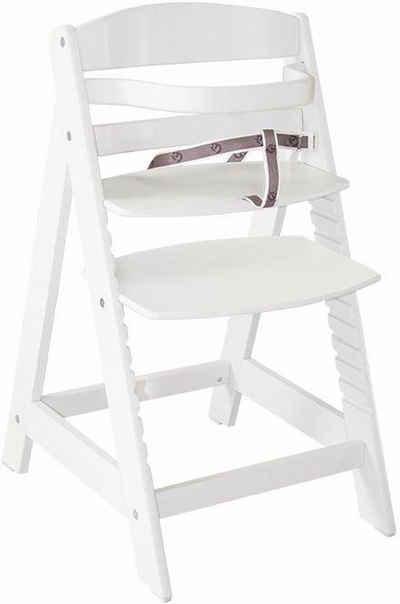 roba® Hochstuhl »Treppenhochstuhl Sit up III, weiß«, aus Holz