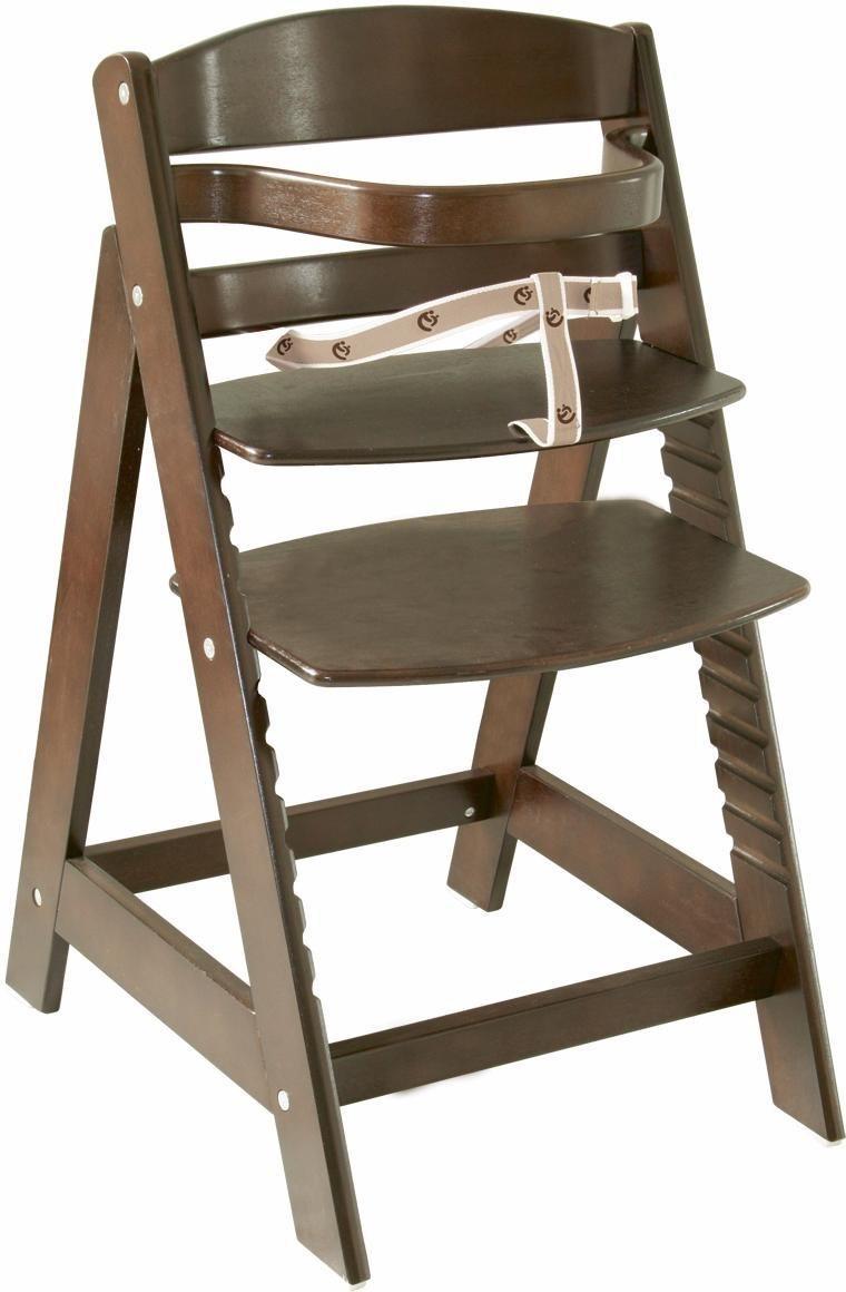 Roba Hochstuhl aus Holz, »Treppenhochstuhl Sit up III, braun«   Kinderzimmer > Kinderzimmerstühle > Hochstühle   Braun   Roba®