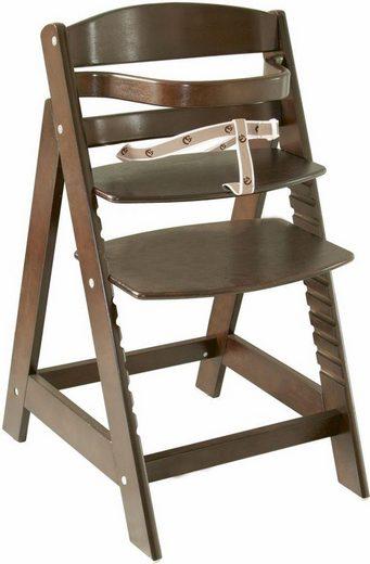 roba® Hochstuhl »Treppenhochstuhl Sit up III, braun« aus Holz
