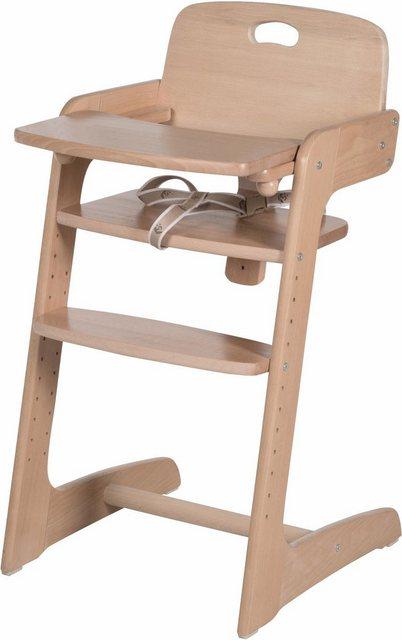 Hochstühle - Roba® Hochstuhl »Treppenhochstuhl, Kid Up, natur« aus Holz  - Onlineshop OTTO