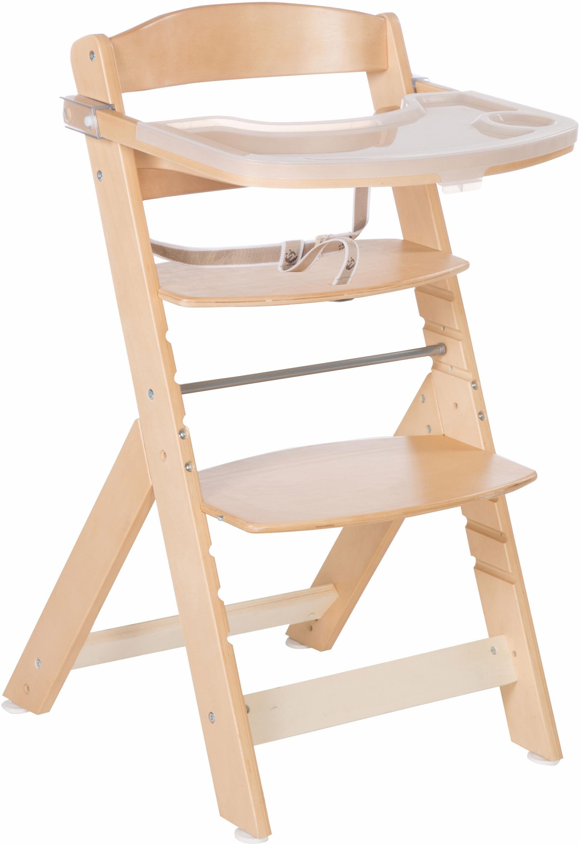 Roba Hochstuhl aus Holz, »Treppenhochstuhl Sit up Super Maxi, natur«   Kinderzimmer > Kinderzimmerstühle > Hochstühle   Holz   Roba®