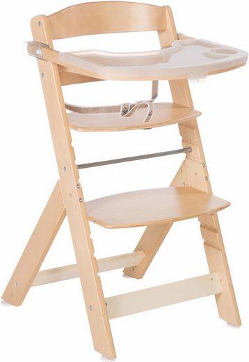 Roba® Hochstuhl »Treppenhochstuhl Sit up Super Maxi, natur« aus Holz