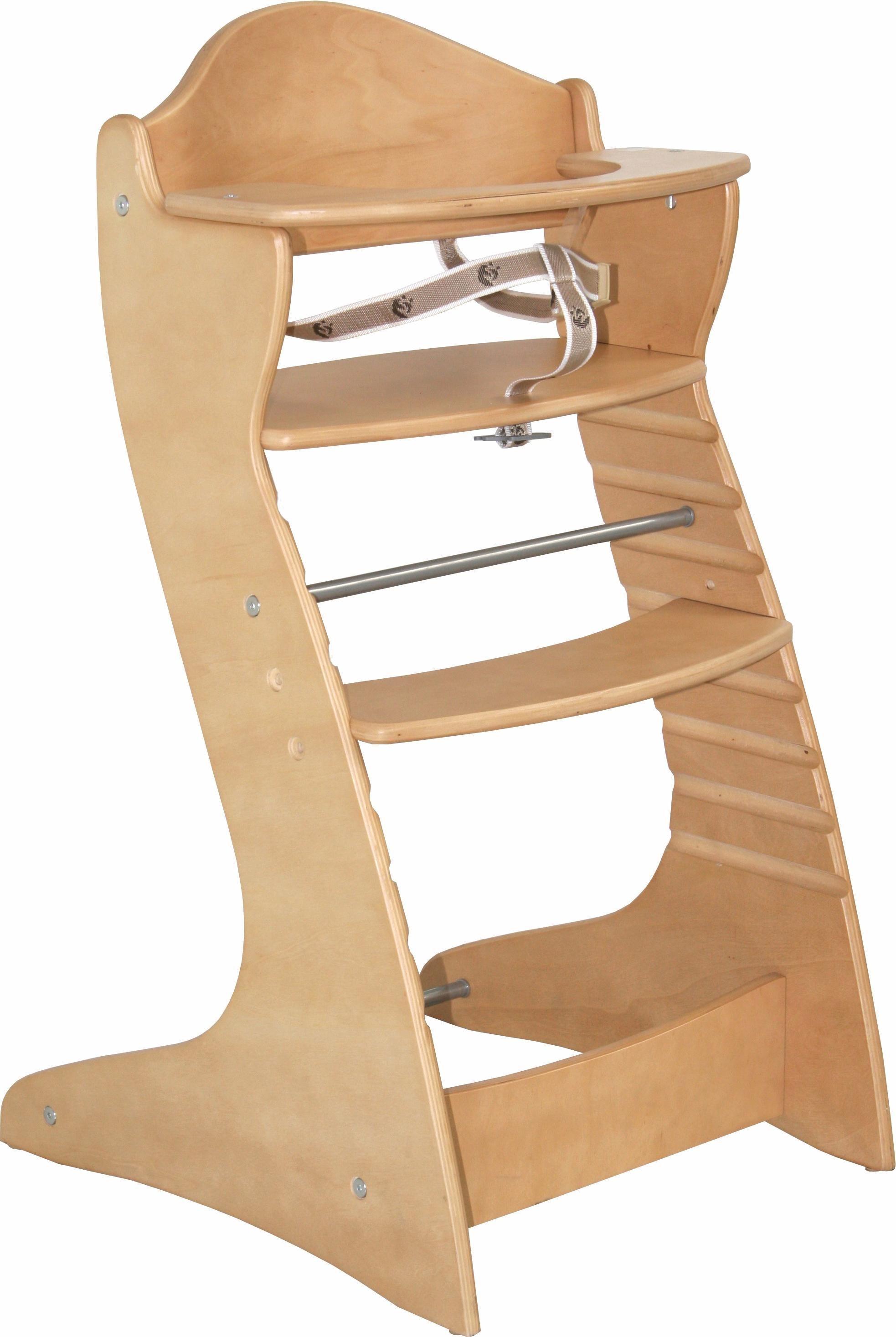 Roba Hochstuhl aus Holz, »Treppenhochstuhl Chair up, natur« | Kinderzimmer > Kinderzimmerstühle > Hochstühle | Roba®