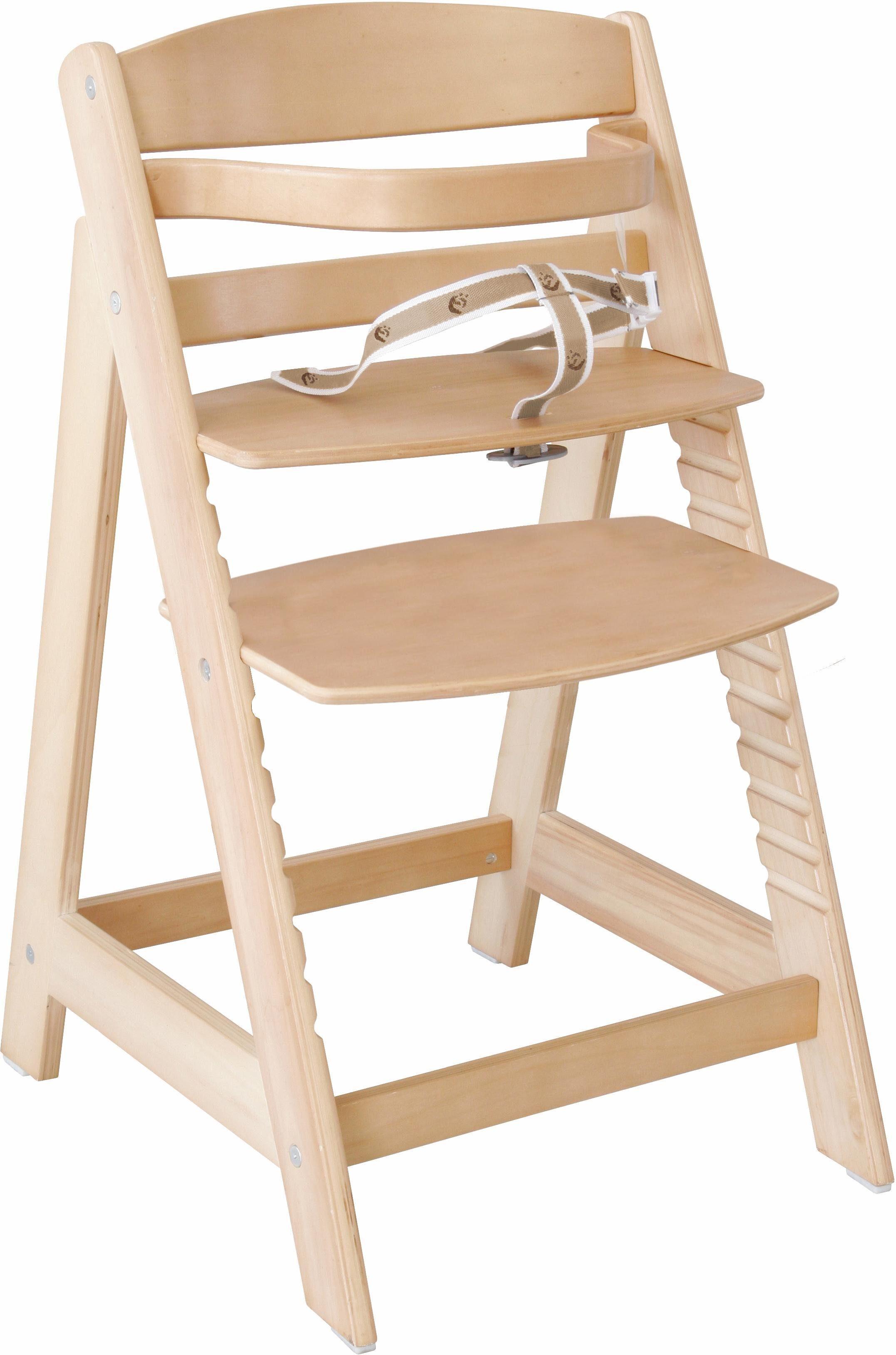 Roba Hochstuhl aus Holz, »Treppenhochstuhl Sit up III, natur«