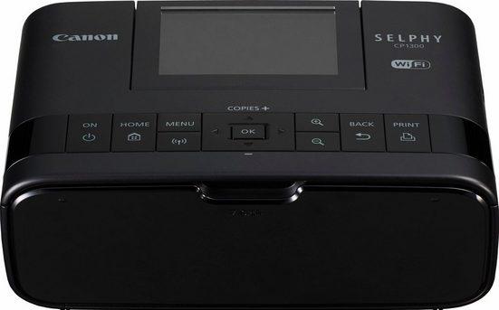 Canon SELPHY CP1300 Fotodrucker, (WLAN (Wi-Fi), NFC)