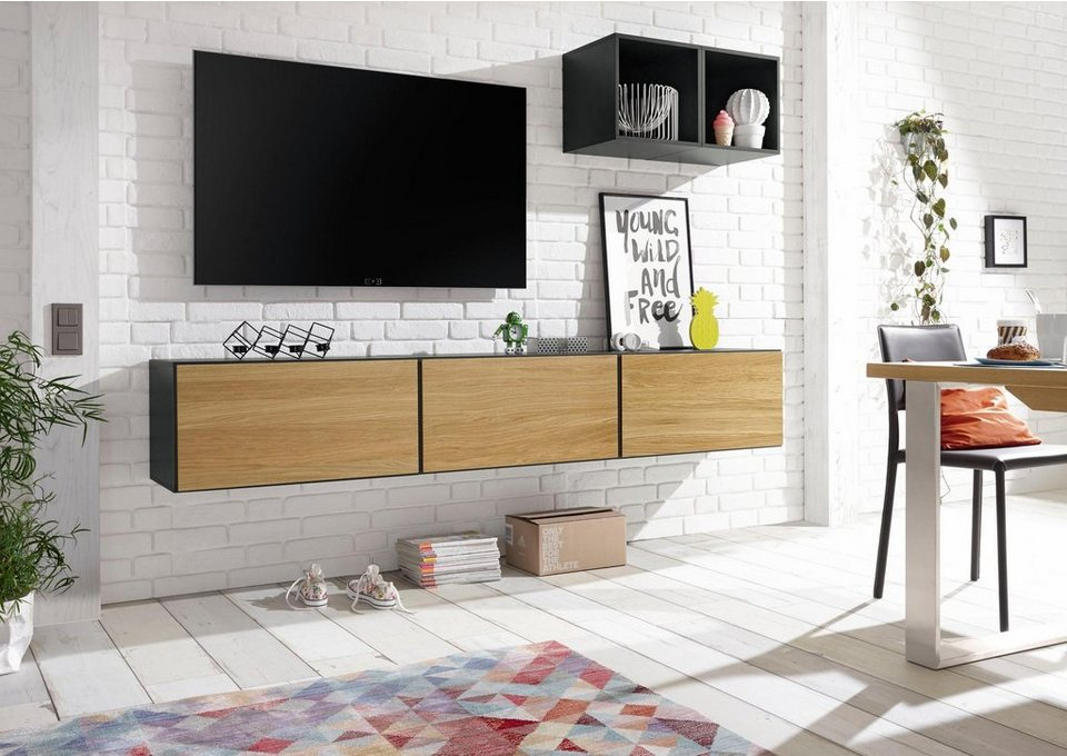 now by h lsta wohnkombination now to go bestehend aus 5 boxen online kaufen otto. Black Bedroom Furniture Sets. Home Design Ideas
