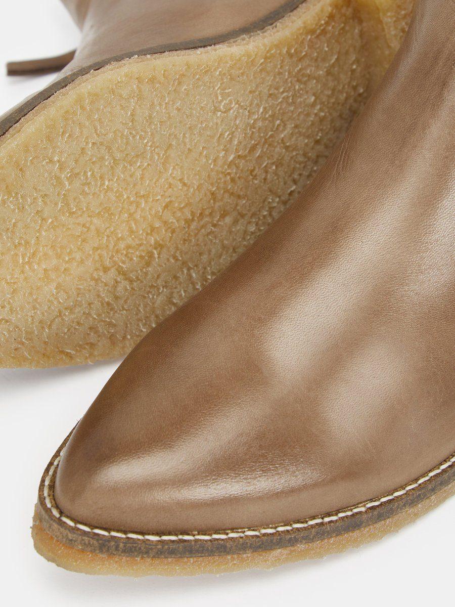Bianco Doppel-Reißverschluss- Stiefel kaufen  Stone