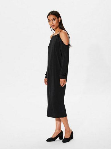 Selected Femme Off-Shoulder- Kleid