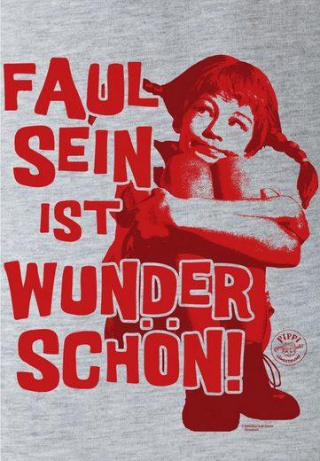 LOGOSHIRT Damenshirt Pippi Langstrumpf