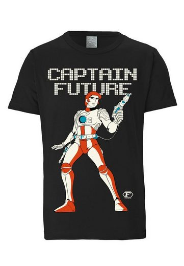 LOGOSHIRT Herrenshirt Captain Future - Science-Fiction Held