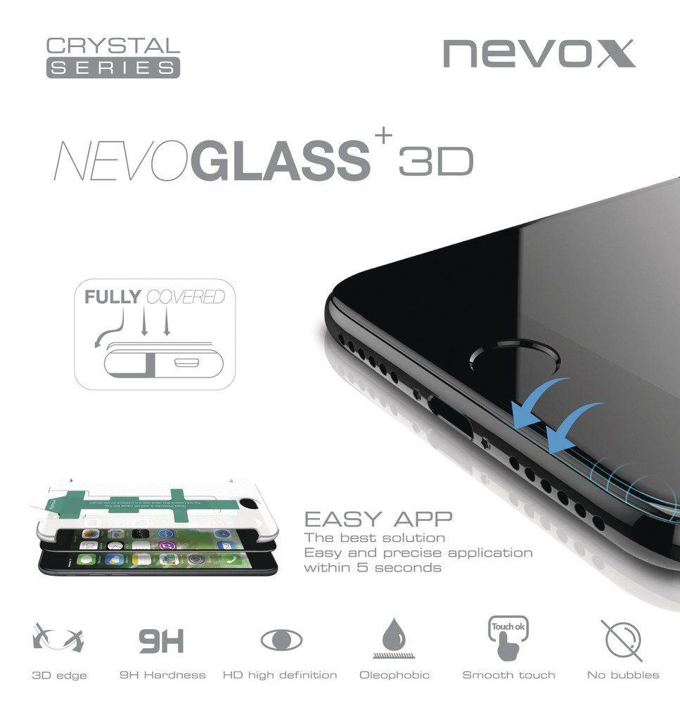 nevox Curved glass Displayschutz für das Galaxy S8+ »NEVOGLASS 3D«