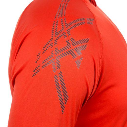 Asics Laufshirt Stripe