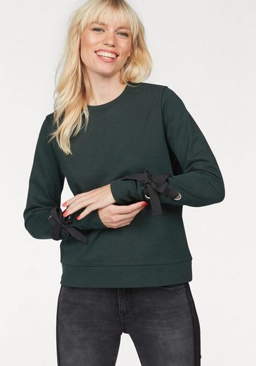 eksept Sweatshirt EYELET SWEAT, mit Schnürdetail