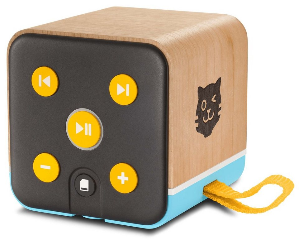 lenco mobiler kinder bluetooth lautsprecher mit h rspiel. Black Bedroom Furniture Sets. Home Design Ideas