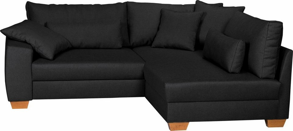 home affaire ecksofa helena wahlweise mit bettfunktion. Black Bedroom Furniture Sets. Home Design Ideas
