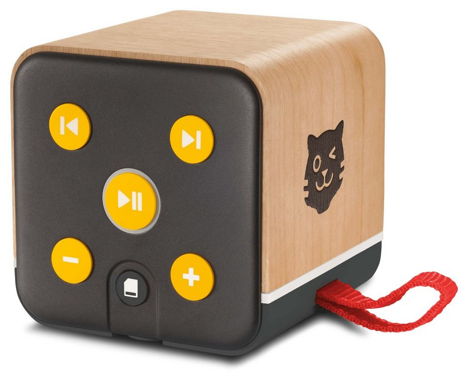 lenco mobiler bluetooth lautsprecher f r kinder tigerbox. Black Bedroom Furniture Sets. Home Design Ideas