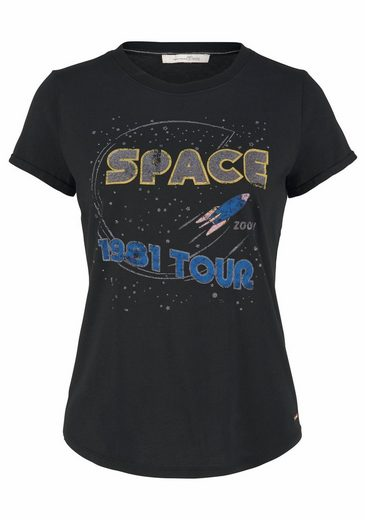 Tom Tailor Denim T-Shirt, mit Space-Print
