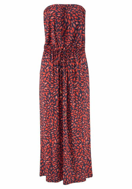 LASCANA Bandeaukleid mit Alloverprint | Bekleidung > Kleider > Bandeaukleider | Lascana