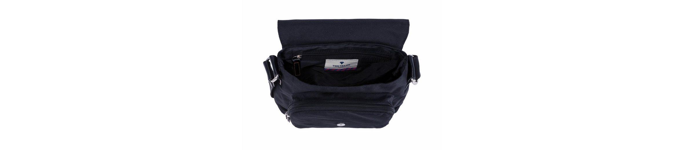 Tom Tailor Umhängetasche, Crossbody Bag mit Zierschnalle
