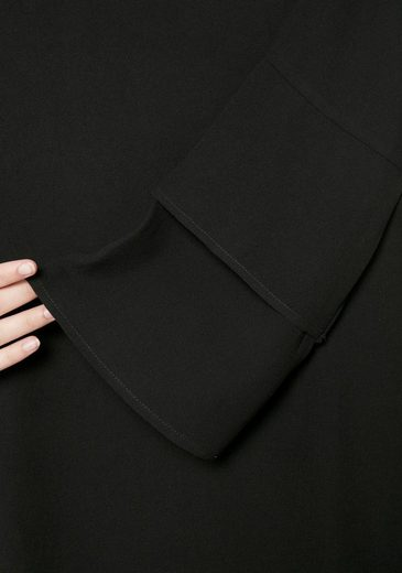 Ichi Blusenkleid SIGRID, mit trendigen Volantärmeln