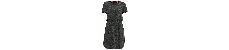 Ichi Shirtkleid RIKKE, mit glanzvollem Lurex-Effekt