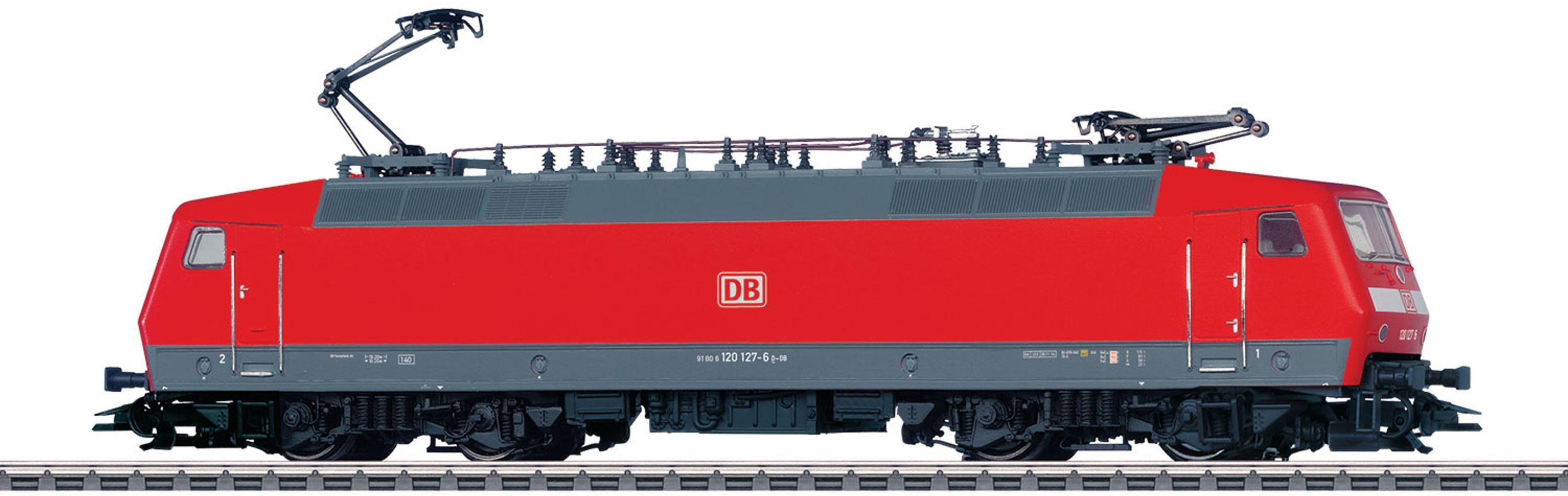 Märklin Elektrolok mit Licht und Sound, Spur H0, »BR 120.1, DB AG, Wechselstrom - 37527«