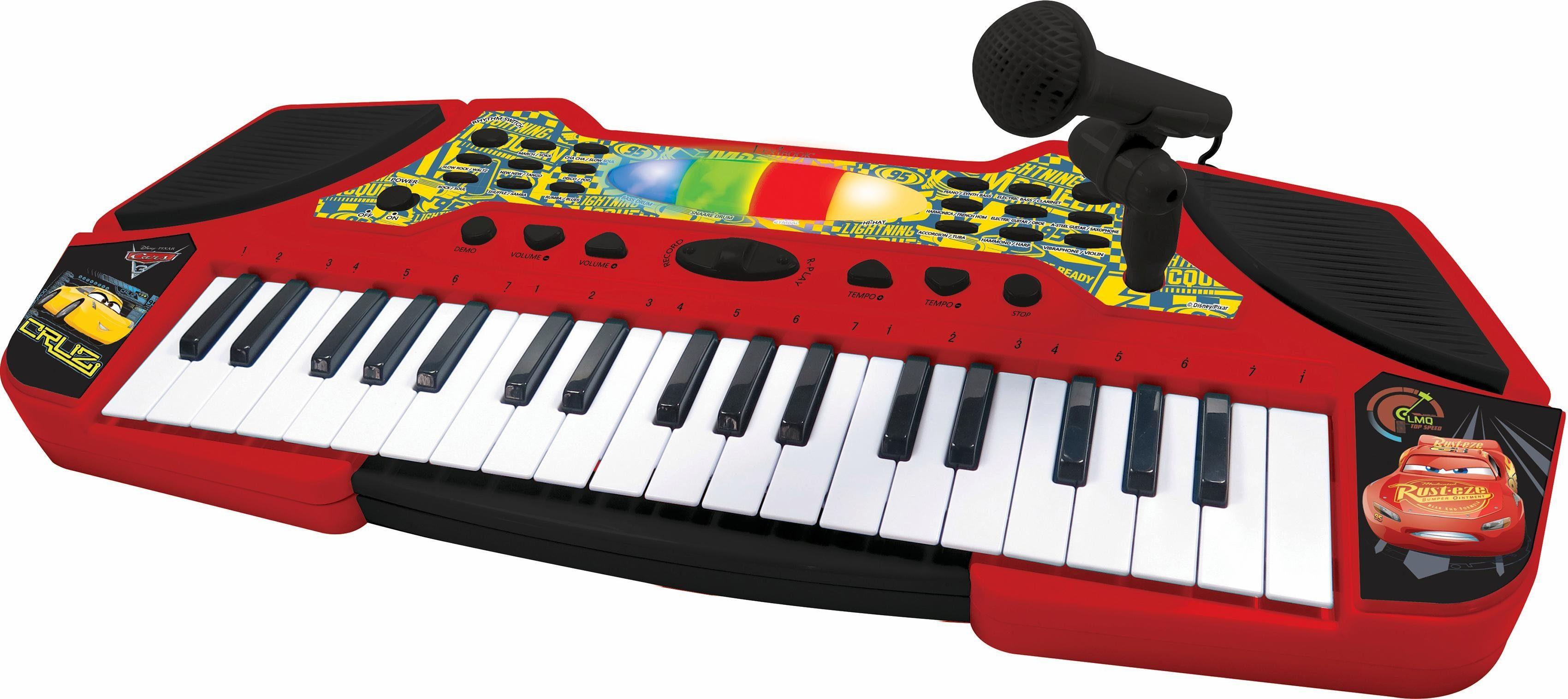 Lexibook Keyboard mit Mikrofon, »Disney Pixar Cars 3«